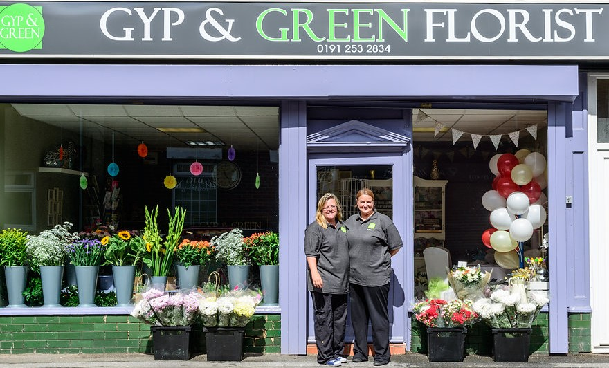Contact Us | Flowers by Gyp and Green shiremoor, newcastle upon tyne